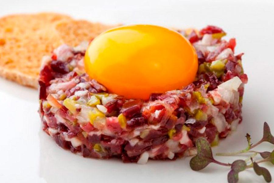 Receta de Tartar de jamon iberico