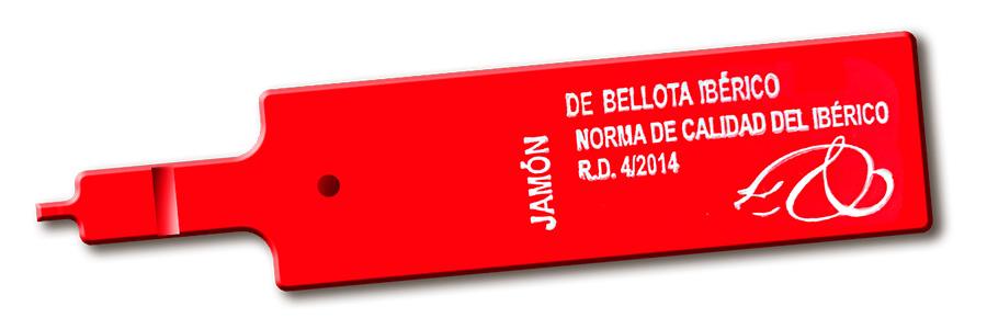 Etiqueta roja jamón